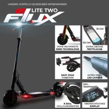 eFlux Lite Two 8 Zoll 500 Watt Motor