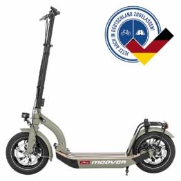 Metz moover E-Scooter grau