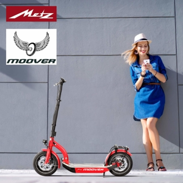 Metz moover E-Scooter rot