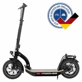 Metz moover E-Scooter schwarz
